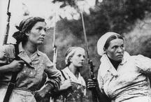 WWII: Women at War / by Mora Festil
