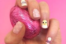 Easter nail art / by Wahanda
