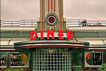 Diners & Drive ins / by Misty Stemple