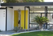 knock knock / exterior doors, entry, entry way, modern doors, modern exteriors, creative entries, modern design, modern details, hardware, custom doors. www.modernhousenumbers.com
