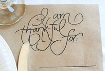 Holidays: Thanksgiving Dinner
