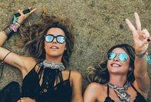 FESTIVAL / Boho festival style ideas for gypsies, bohemians and hippies.