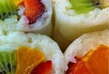 Recipe Sushi / by Lorrie Scott