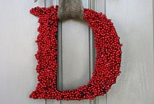 Wreaths  / I love wreaths.  I keep them up all year long.   / by Debbie Lunsford