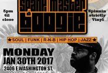 DJ Spank Master Boogie / parties, fun, tech, turntablism, history