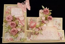 Cards - Fancy Fold & Cascade / by Joanne Scott