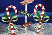 Candy Cane Decorations / by Debbie Lunsford