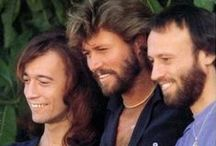 Barry, Robin, and Maurice - The Bee Gees (And some of Andy) / The Bee Gees are one of my all-time favorite groups and one of the most talented groups of all time.   (My opinion.)  I miss hearing their music.  All four brothers were very talented.  It's sad that only one is left.   Music as good as this does not exist today. / by Debbie Lunsford