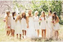 ( bridesmaid dresses ) / Pretty dresses I hope my friends will like. / by Kirstie Kenton