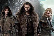 **Hobbit** / HOBBIT: The Company Of Thorin Oakenshield-Kili, Fili, Bilbo, Balin, Dwalin, Bifur, Bofur, Bombur, Thorin Oakenshield, Nori, Dori, Ori, Oin, Gloin going to reclaim their homeland- The Lonely Mountain.