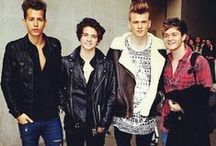 """**The Vamps** / British boy-band with singles like """"Cecilia"""" and """"Somebody To You"""" , amazing voices, talents, skills. love. <3"""