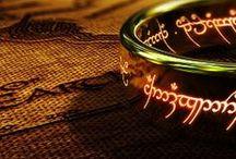 **LordOfTheRings** / LOTR: The Fellowship Of 9 Brave Men-Gimli, Legolas, Frodo, Aragorn, Pipin, Merry, Sam, Boromir and Gandalf going to Mordor to destroy the RING.