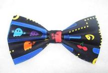 Fun and Games Bow Ties / Favorite games, toys and cartoons.