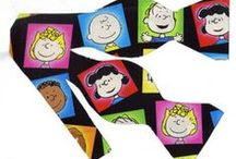 Charlie Brown, Snoopy and the whole Peanuts Gang bow ties / Everybody's favorite!  Charlie Brown, Snoopy, Lucy, Linus, Peppermint Patty, Woodstock and the whole Peanuts Gang.