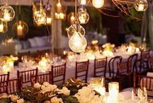 Magical lighting / Create a magical mood for your wedding day.