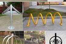 Вело парковка / подборка идей на тему велопарковка