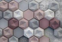 3D панно, плитка, мозаика / Оформление стен потолков и полов.