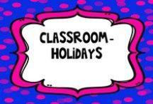 Classroom- HOLIDAYS