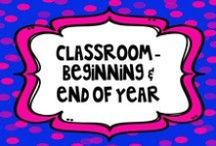Classroom- Beginning, End of Year