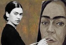 Art - Frida, Fridaesque & Diego / by EmKat 58