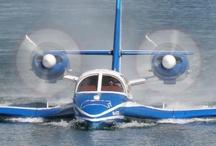 Hidroaviones / Fotos de Hidroaviones. Un hidroavión es un tipo de avión que es capaz de despegar y amerizar en una superficie de agua.  / by Jets Privados 24