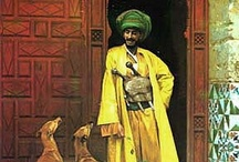 Janine loves Orientalism / Orientalism was an artistic movement that flourished in the 19th Century (so, mostly Victorian) as Western artists discovered the light, scenery, textiles and peoples of the Middle East.