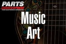 Music Art / by Parts Express