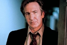 ALAN RICKMAN / The man ,the voice. Alan Rickman speaks in the voice of God with bedroom eyes.Such a personality and presence with his tall stature oh! such a charmer...! / by Virgo goddess