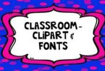 Clip Art and Fonts