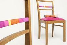 DIY Home Déco / Living / Le pleins de tutoriels pas à pas pour apporter une touche de fait-man dans son intérieur. Rénover une chaise, pimper un ceintre, fabriquer une table basse... Do It Yourself !