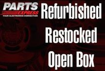 Refurbished, Restocked and Open Box for Sale / Parts Express items that are priced to sell! These are restocked, refurbished or open box items.  / by Parts Express
