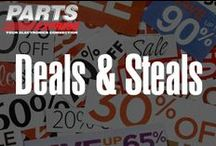 Deals and Steals / Audio and speaker deals, coupons to parts-express.com and other big savings. / by Parts Express