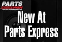New at Parts Express / See what is new at Parts Express! / by Parts Express