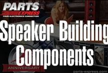 Speaker Building Components / by Parts Express