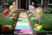 Party Ideas / My favorite fun party idea pins. / by Tesa Nicolanti