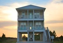 Beach Vacation Homes / Planning a vacation to the beach not sure where yet - pins of my favorite beach vacation homes. / by Tesa Nicolanti