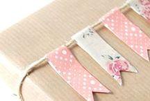 Hübsche Verpackungen / Geschenke schön verpacken ist eine Kunst für sich. Hier ein paar Anregungen.