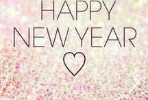 Neujahr / Happy new year: Deko und Printables.