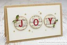 Weihnachtskarten / Weihnachtskarten selbst gemacht.