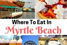 Myrtle Beach / My favorite Myrtle Beach pins. Can't wait to go back again!