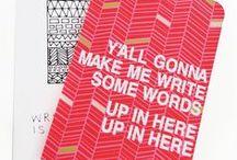 [write] / by Elisabeth Bromberg