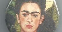 ♥ Frida Kahlo Love ♥ / Pin away, no limits. Please just keep it clean, tasteful, and on-topic (Frida Kahlo). To contribute or say hello write to eddie at eddiegworld dot com or comment on my latest pin . Above all share your best!