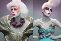 Dramatic Makeup / Make up artists please do dis!