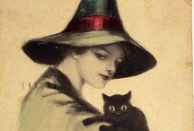 Halloween Vintage / Vintage and reproduction of Halloween cards, decoration, etc. / by Tamara Mitchell
