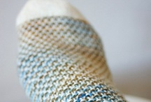 serious knit socks / by Elise Rosengren