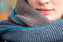 splended knit scarves  / by Elise Rosengren