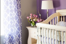 AB's Bedroom / Annabelle would like me to paint her bedroom purple with polka dots!  I will not do this but I'm hoping to compromise with her - maybe one purple wall with polka dot decals?  Polka dot curtains?  Ideas? / by Sarah Carlson