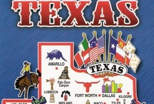 Texas...God Bless / Texas is the crossroads of the world. Everything here is big - Bobby Lee / by Tamara Mitchell
