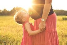 Maternity Photo Inspiration / Solo, couple and sibling maternity photos.  / by Cassandra Henifin