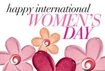 International Women's Day 2014 / Happy International Women's Day from The Avon Foundation for Women. IWD is a day to think about the 1 in 3 women around the world who are victims of domestic violence. Everyone deserves a life free of violence. #IWD